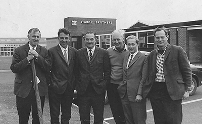 Dick Walker, Pete Thomas, Fred Buller, Frank Moir and Jim Hardy